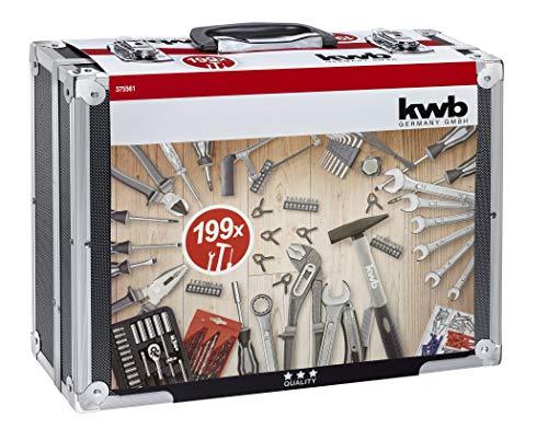 Werkzeugkoffer 199 Teile KWB