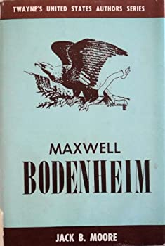 Hardcover Maxwell Bodenheim Book