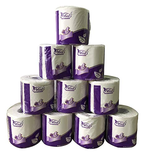 10 Rolls Toilet Paper Fast ETA 10 Days 3-Ply White $9.99(41% Off)