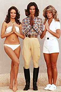 Erthstore 11x17 inch Wall Poster of Charlies Angels Jaclyn Smith Kate Jackson Farrah Fawcett
