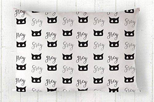 Personalized Kids or Toddler Cotton Pillowcase In Mask Print