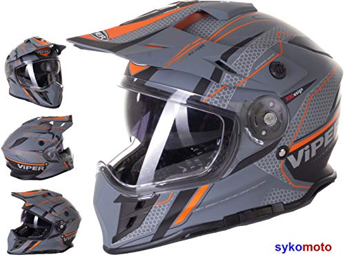 Bester der welt RX-V288 Ventura ECE Offroad-Motorradhelm-Genehmigung Enduro Integrated Motocross Race Track…