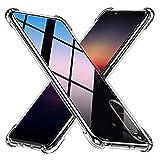 Peakally Funda Sony Xperia 5 II Carcasa, Sony Xperia 5 II Funda Silicona TPU Suave Ultrafino Smartphone Case [Anti-Caida y Resistente a arañazos] - Transparente