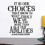 Harry Potter Zitat Poster Albus Dumbledore Zitat