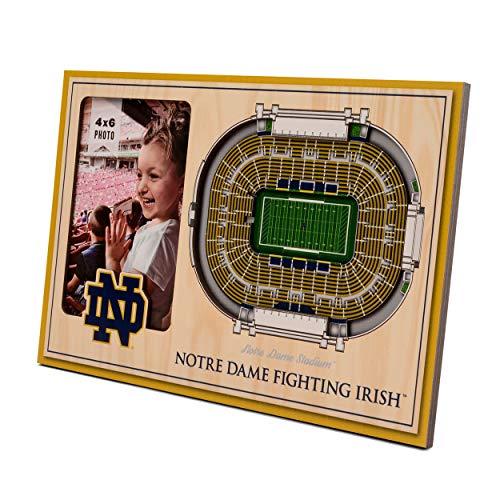 NCAA Notre Dame Fighting Irish 3D StadiumViews Moldura para quadro