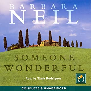 Someone Wonderful                   By:                                                                                                                                 Barbara Neil                               Narrated by:                                                                                                                                 Tania Rodrigues                      Length: 14 hrs and 34 mins     14 ratings     Overall 3.6
