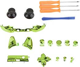 Baoblaze A B X Y Buttons Analog Stick D-Pad Bumpers Triggers Mod Kit + T6/T8/T10 Screwdriver for Microsoft Xbox One S Cont...