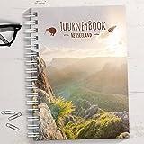 Reisetagebuch Neuseeland zum selberschreiben/als Abschiedsgeschenk - DIN A5 mit interaktiven Aufgaben und Challenges und Reise-Zitaten