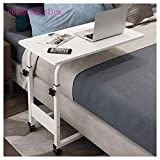 Höhenverstellbarer Laptop-Tisch Tragbarer Überbett-Tisch Mobiler Computer-Stehpult Beist...