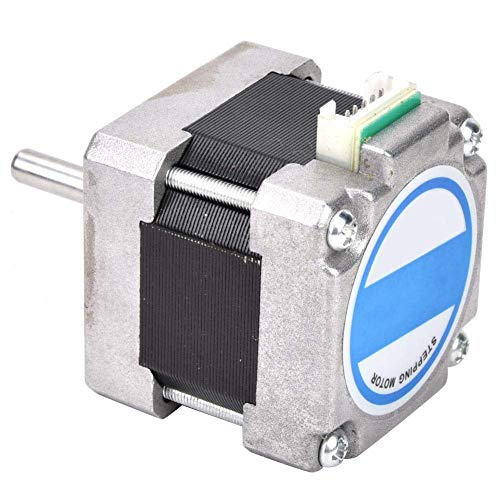Brightz Stepper Motor, Stepper Motor Nema 16,0.2N.m 0.8A High Torque Stepper Motors Kits for 3D Printer/Engraving Machine CNC Mill Lathe Router Brush DC Motor,