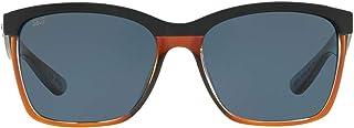 Costa Del Mar Women's Anaa Rectangular Sunglasses