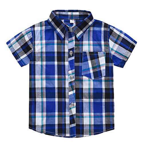 Shirt Langarm - Langarmshirt für Babys - Baumwoll-Longsleeve mit Rundhalsausschnitt & Druckknöpfen an den Schultern - einfarbig