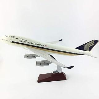 45CMシンガポール航空B747-400 1:150合金航空機モデルコレクションモデル航空機おもちゃギフト