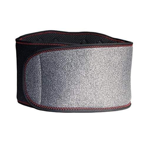 ZYXYBF 1pcs Verstelbare Toermalijn Self-verwarming van magnetische therapie Taille Ondersteuning Belt pijn lumbale Taille Brace Houding Corrector (Color : Gray)