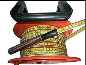 Cable ruler type water level gauge well depth meter ground water deep dept rule (30m)