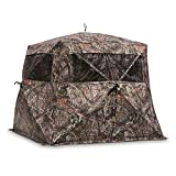 Guide Gear Flare 270 Pop-Up Hunting Camo Ground Blind for Deer, Duck,...
