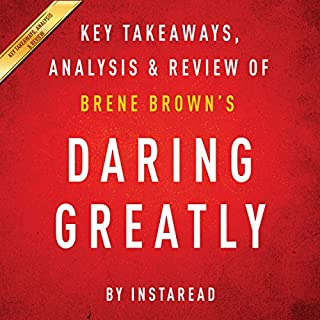 Daring Greatly by Brene Brown - A 30-minute Summary & Analysis cover art
