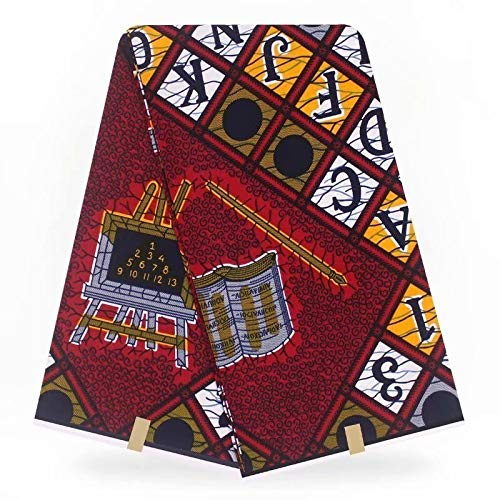 Fabric African| African Fabric Ankara Fashionable Hojilou Dutch Wax African Wax Hollandais for Party Pagne Africain New Hollandais|by KALLAR