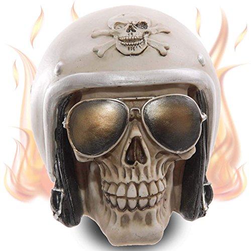 mtb more energy Deko Totenkopf Ghost Biker Totenschädel Figur Dekoration