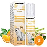 SEGMINISMART Repelente Perros y Gatos,Anti Arañazos para Gatos,Keep Off Spray Educador para Gato,Spray de Entrenamiento para Gatos,Cat Training Spray,Educación Spray para Perros y Gatos…