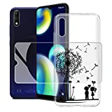 JIENI Case + Tempered Glass Screen Protector for Wiko View4