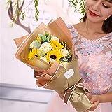 GUXINHOME 2 ewige Blumen, Rosenseife handgemachte Rosenduft Duschgel