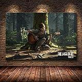 Mode Leinwand Malerei The Last of Us Spiel Plakat-Druck