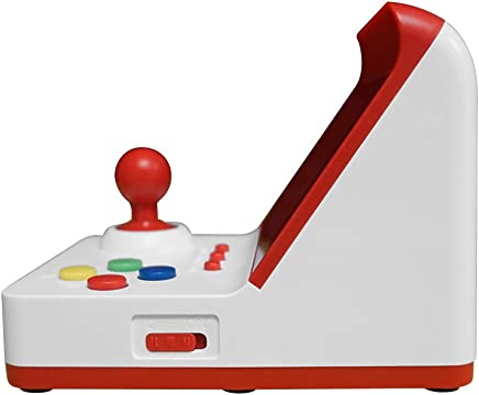 """Docooler Retro Miniature Arcade Game Console Portable Handheld Game Machine 3"""" Screen Dual Wired Joysticks 360 Classic Games Present Gift for Kids Support AV Out"""