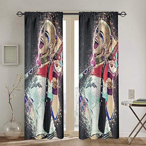 51N-sLbZKlL Harley Quinn  Curtains