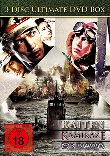 Kriegsbox - Okinawa/Kaiten/Kamikaze (3DVD Box)