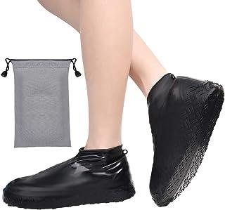 Couvre-chaussures en Silicone R/éutilisables Antid/érapant Couverture de Chaussures pour Jour de Pluie et Jour de Neige SENDILI Surchaussures Imperm/éable