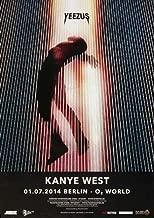 Kanye West - Yeezus Ber 2014 - Concert Poster Plakat