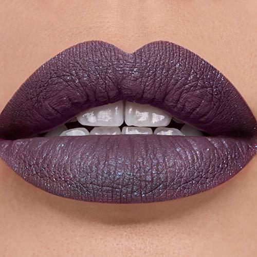 Sugarpill Matte to Sparkle Liquid Lipstick Glitter Lip Color - Vertigo (Purple)