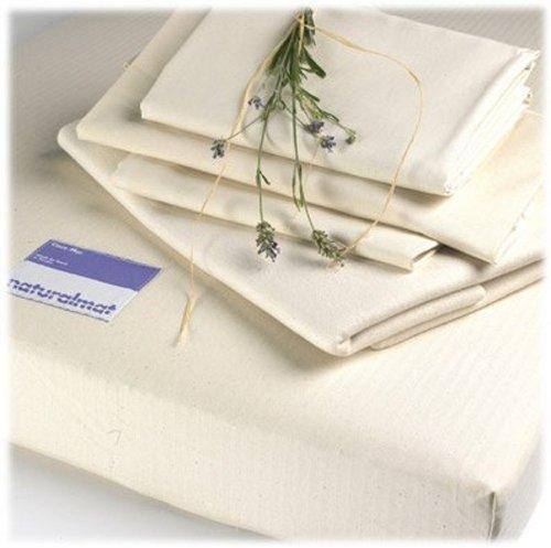 Affordable Natural Mat Flannelette Organic Crib Mattress Protector Pad