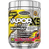 Muscletech Performance Series Vapor X5 Next Gen 30 Serv Fruit Punch Blast Acide Aminé Créatine