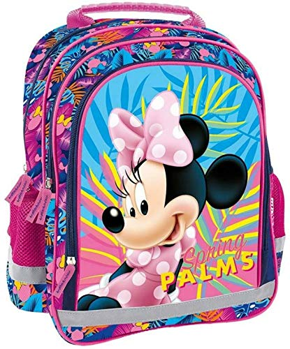 Top Quality Strong School Nursery Bag Travel Backpack Hand Cabin Luggage Disney Minnie Girl Child