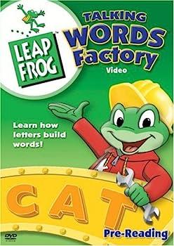 DVD LeapFrog: Talking Words Factory Book