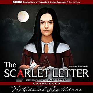 The Scarlet Letter audiobook cover art