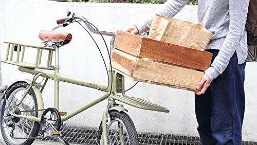 WACHSEN(ヴァクセン)20インチカーゴバイク6段変速colot(コロット)WBG-2001