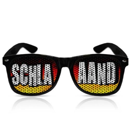 Alemania Schlaaand Fan Gafas WM Fan Artículo Gafas de sol mygafas Fan Artículo Fan Artículo WM Copa del Mundo de 2014Alemania Bandera de Schlaaand