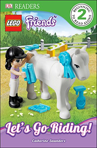 DK Readers L2: LEGO Friends: Let's Go Riding! (DK Readers Level 2)