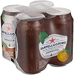 San Pellegrino Chinotto Can, 330ml, (Pack of 4)