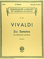 ヴィヴァルディ: 6つのチェロ・ソナタ F.XIV, N.1-6/シャーマー社/チェロとピアノ