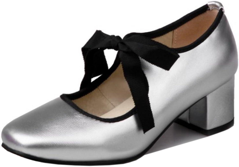 CarziCuzin Women Chunky Heels Pumps