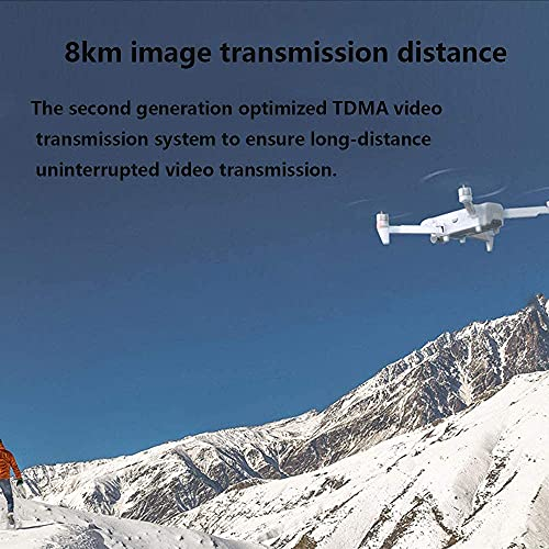 Foldable UAV Quadcopter, Supports 4K100mbp High Definition Video, Drones with Camera for Adults 4K, 8 Kilometers Digital Image Transmission,…