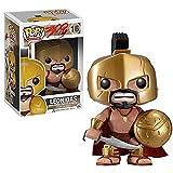 WENJZJ Pop Spartan 300 Warrior Leonidas Adornos de muñeca de Cabeza Grande Hechos a Mano