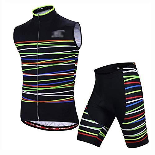 YXX Vertical Hombres Traje De Jersey para MTB para Ciclismo Jersey De...