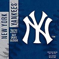 TURNER Sports ニューヨークヤンキース 2021 ボックスカレンダー (21998051411)