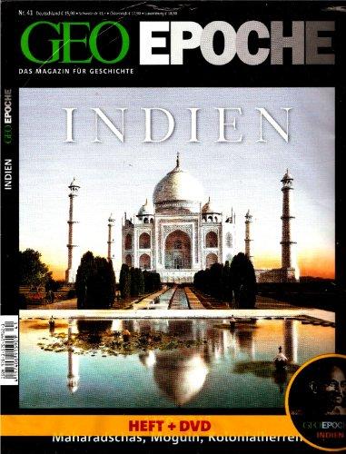 GEO Epoche 41/10: Indien - Maharadschas, Moguln, Kolonialherren (mit DVD)