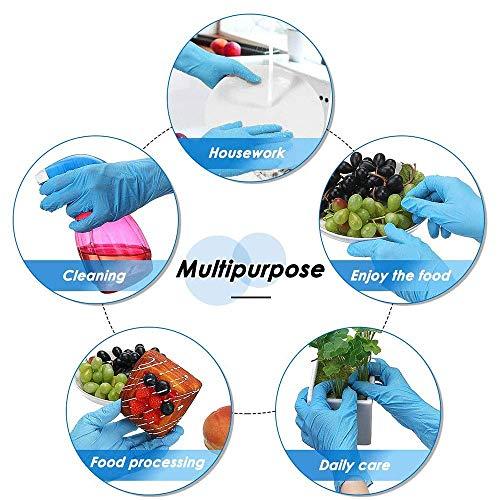 Suzec Med Series Nitrile Powder-Free Hand Gloves Medium - Pack of 100